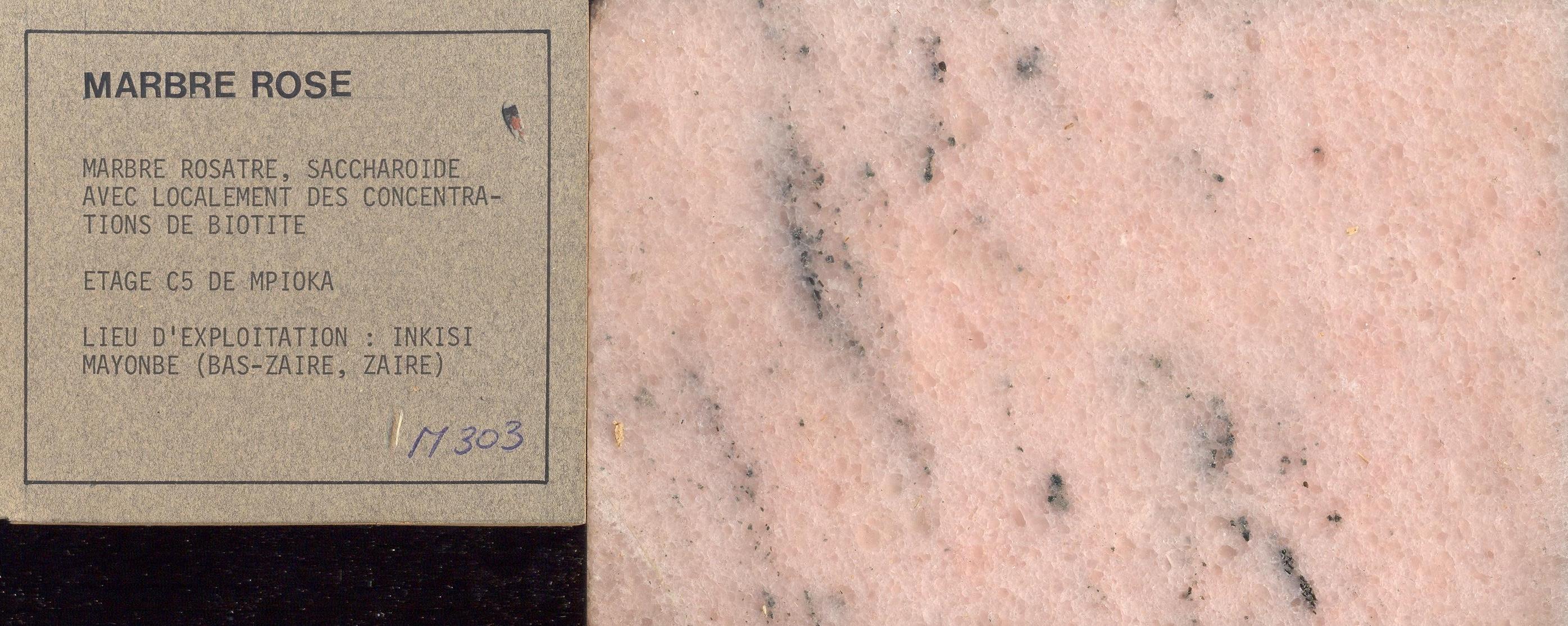 Marbre Rose M303