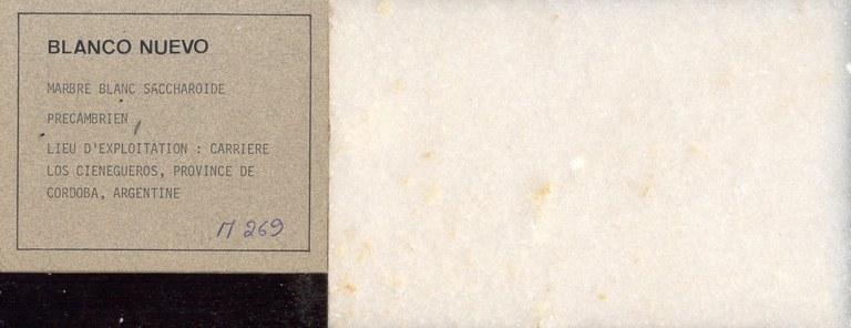 Blanco Nuevo M269