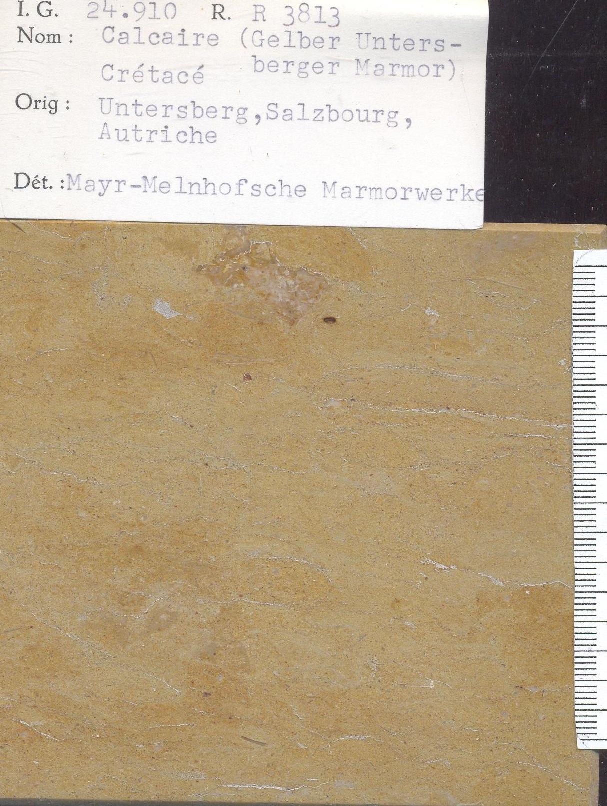 Gelber untersberger marmor RR3813
