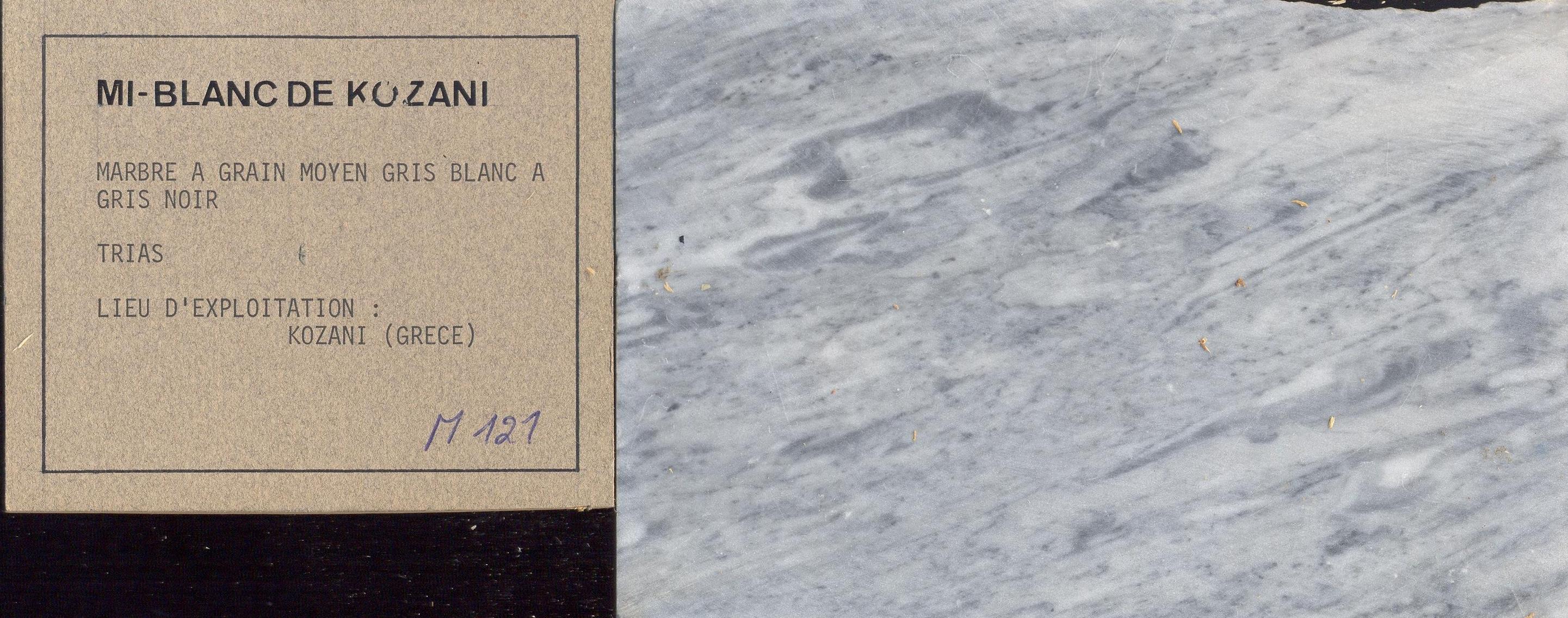 Mi-Blanc de Kozani M121
