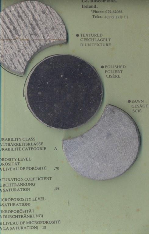 Fossil Grano Diorites M1109