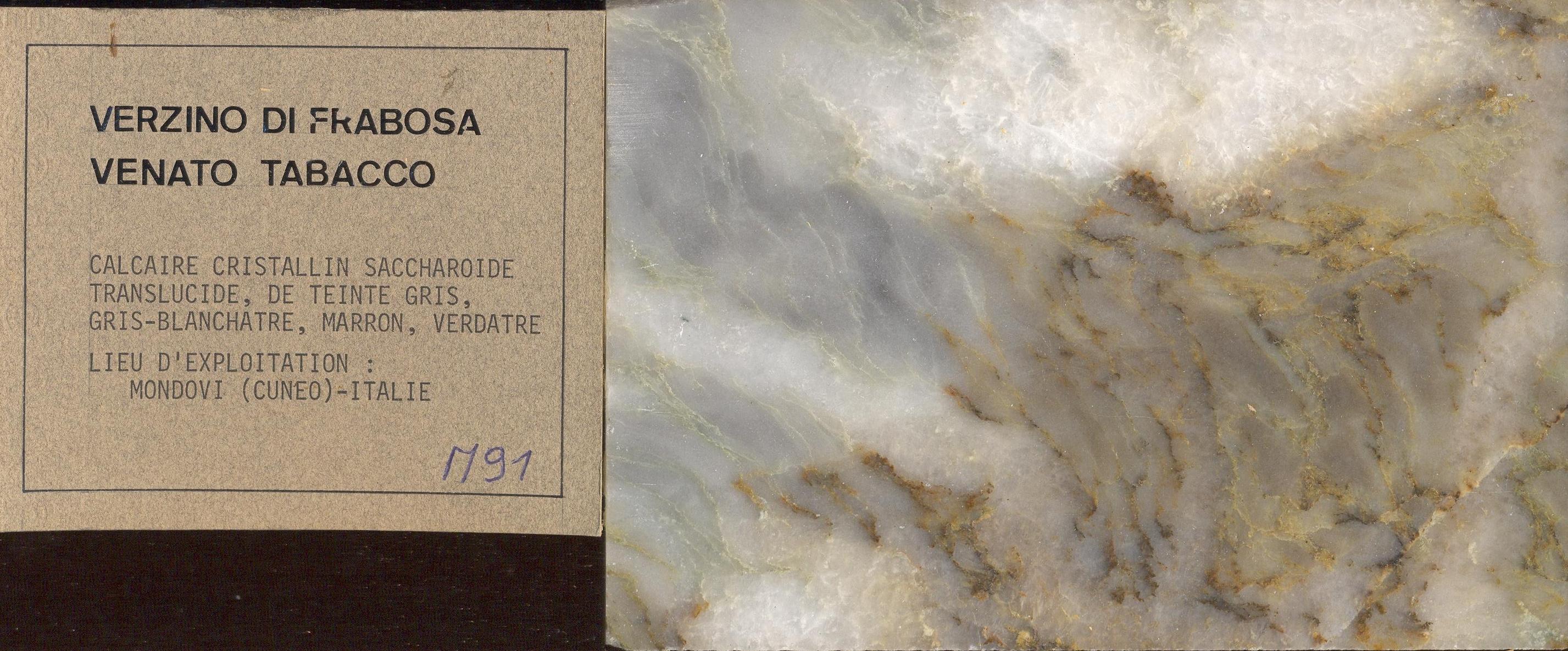 Verzino Di Frabosa Venato Tabacco M091
