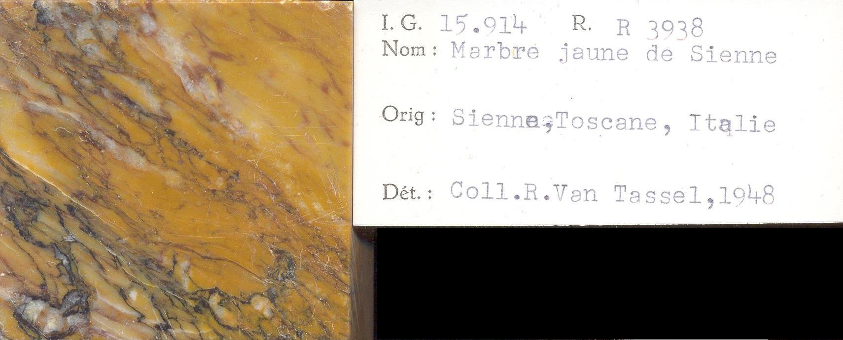 Jaune de Sienne RR3938