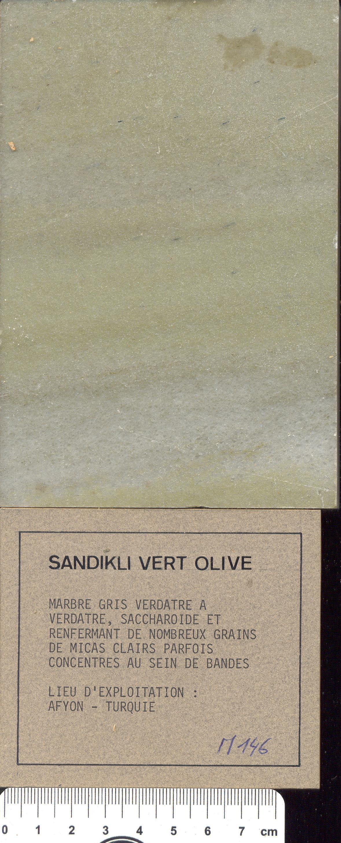 Sandikli Vert Olive M146