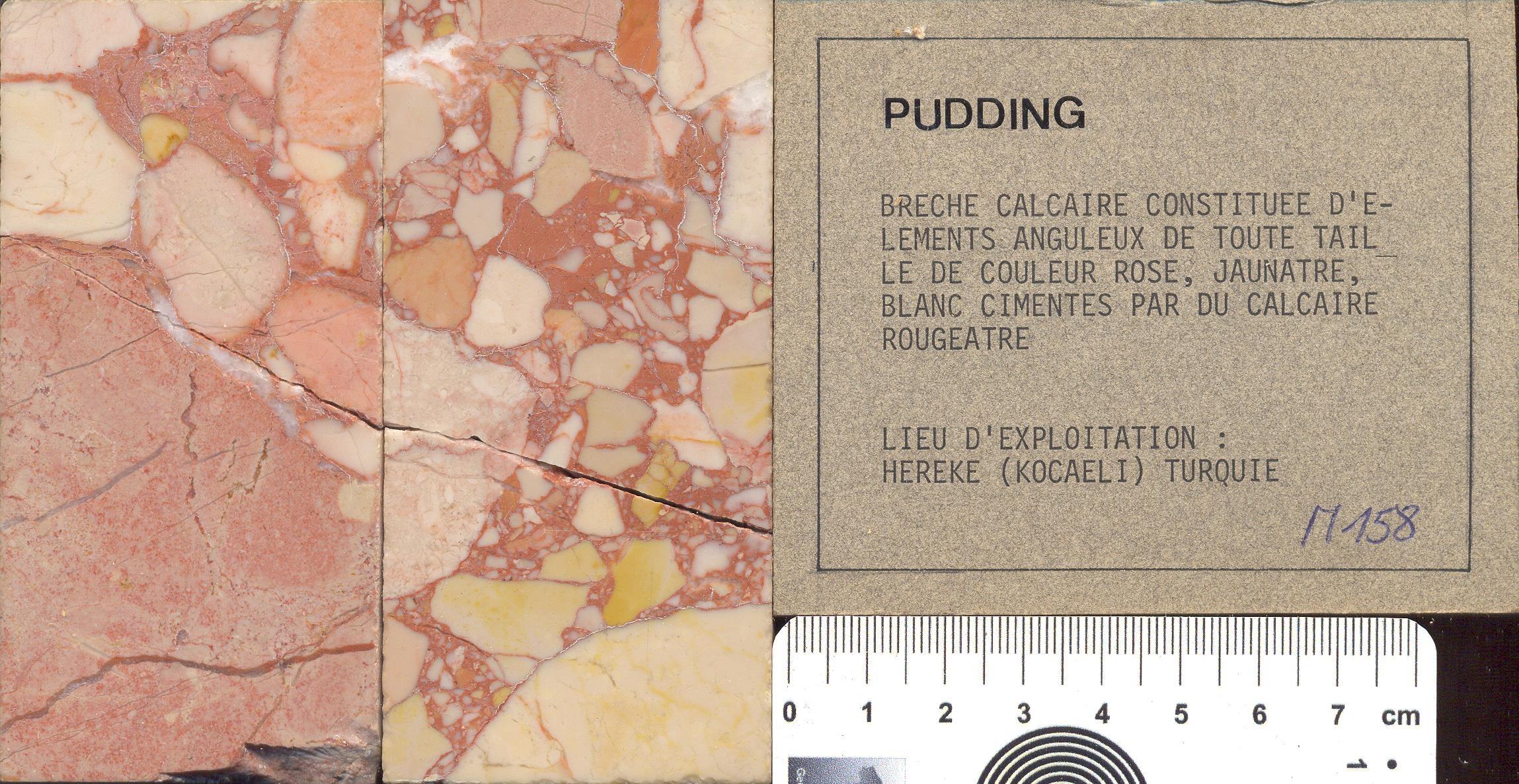 Pudding M158
