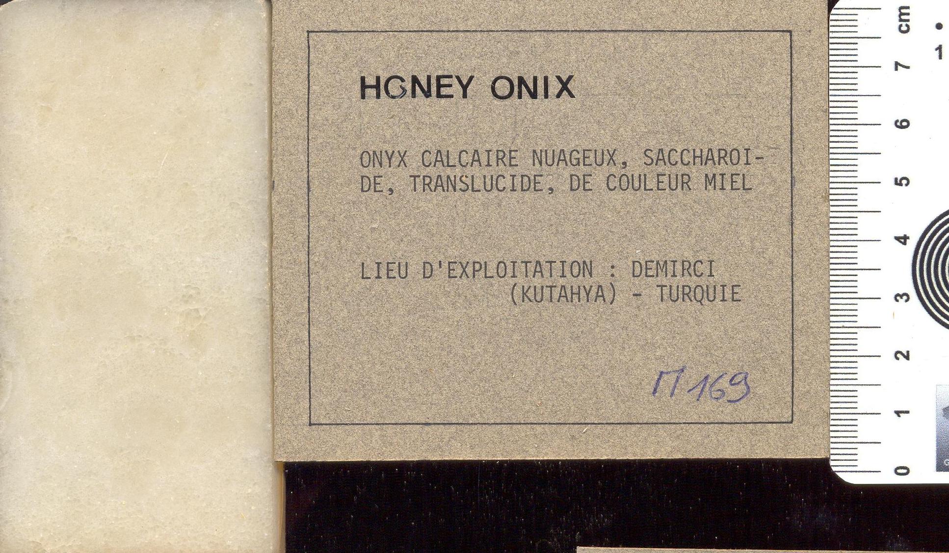 Honey Onyx M169