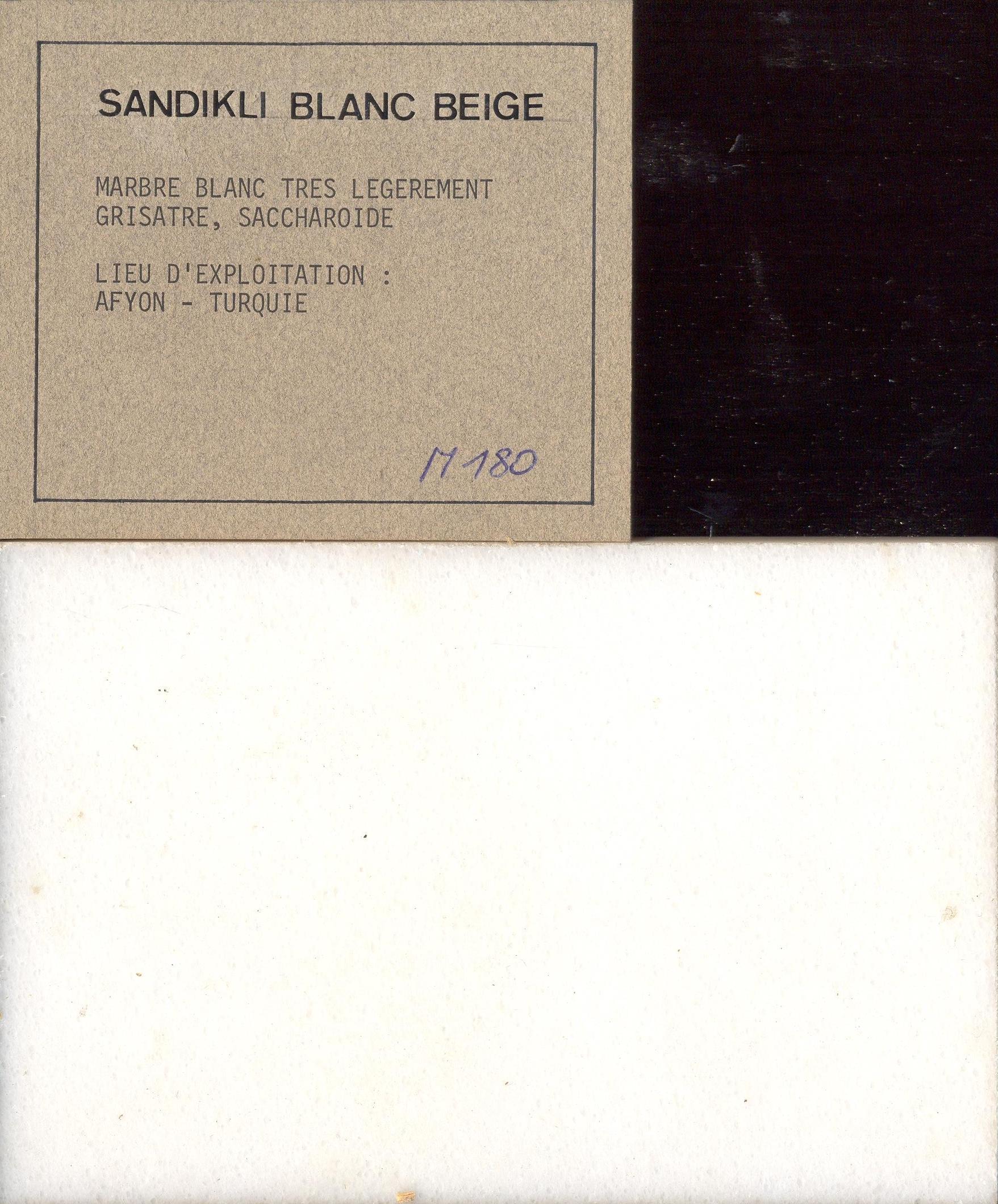 Sandikli Blanc Beige M180