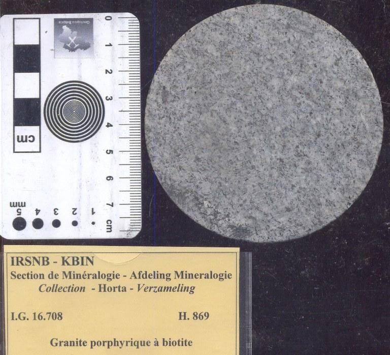 Granite (porfierische met biotiet) H869