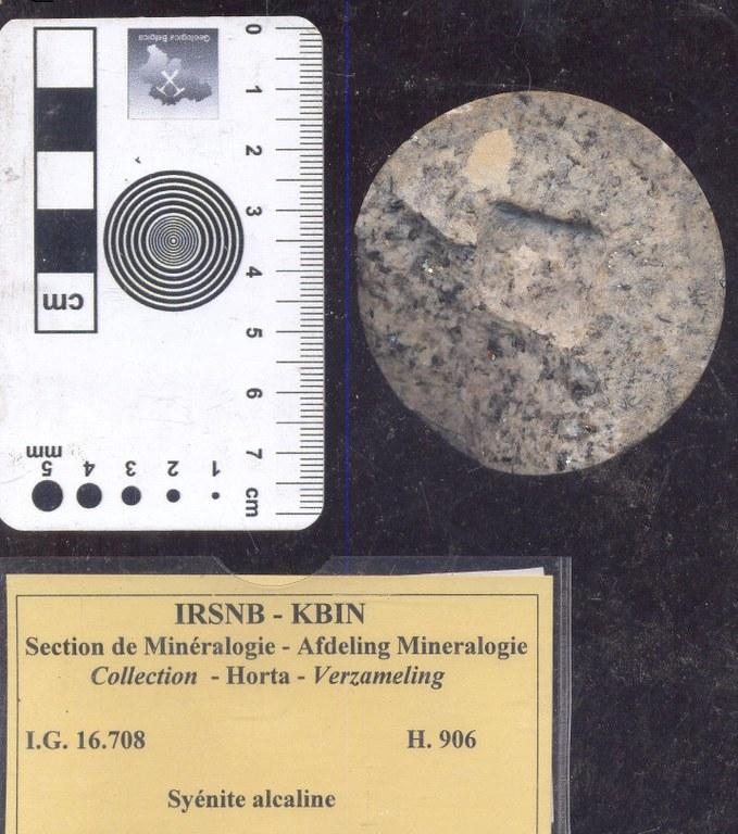 Syenite alkali H906