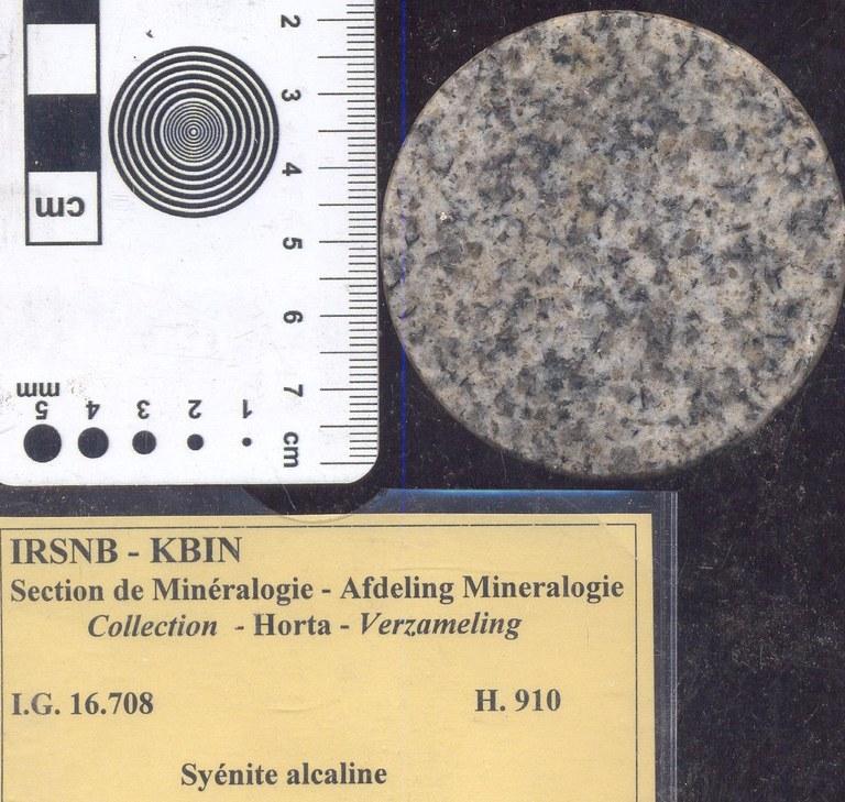 Syenite alkali H910