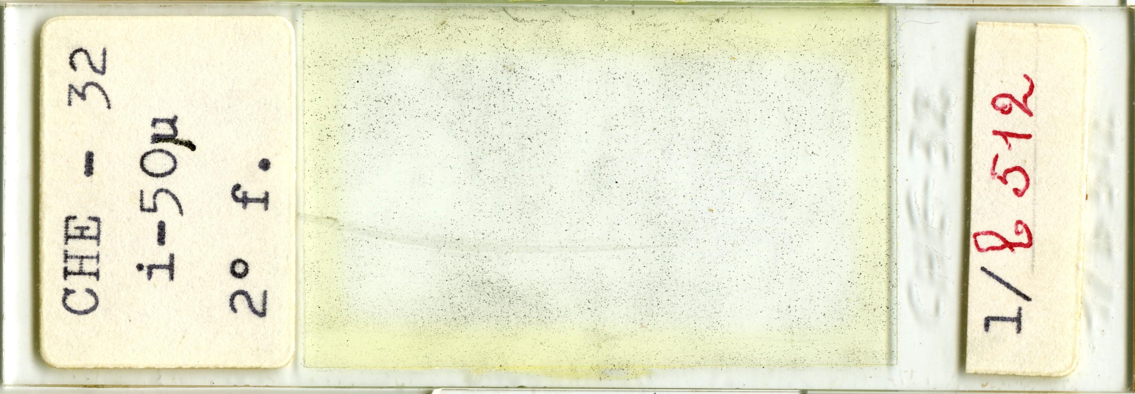 Lame n°CHE - 32 i-50µ 2° f. 1/b 512